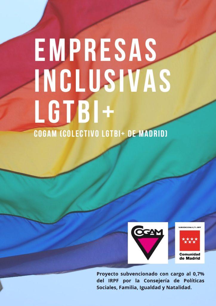 Cartel Empresas Inclusivas LGTBI+
